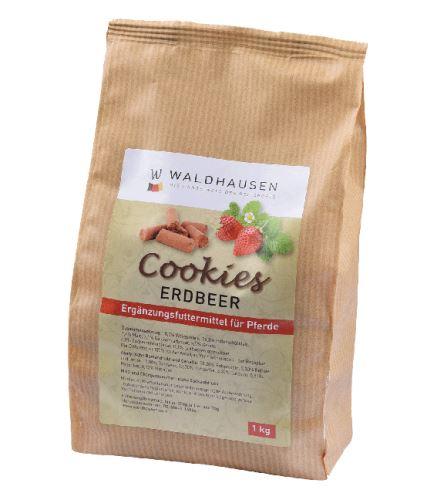 Jahodové cookies - pochoutka pro koně 1kg
