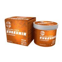 TOPVET Kurkumin s piperinem bylinný extrakt