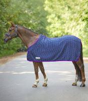 Fleece deka Unicorn lila i pro pony