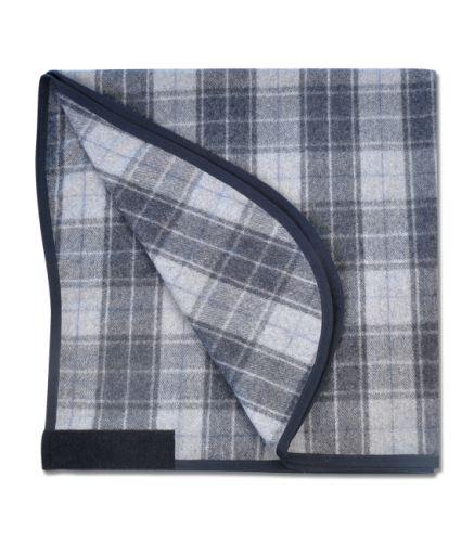 Vlněná zástěra černá/šedá