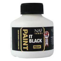 Paint it - černý a bezbarvý  lak na kopyta