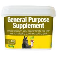 NAF General Supplement, komplexní doplňkové krmivo pro koně, kyblík 3 kg