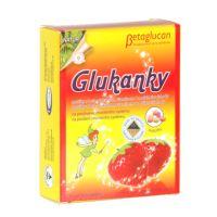TOPVET Glukanky - dětské pastilky s příchutí jahody