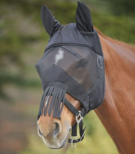 Maska na oči proti hmyzu Premium PLUS černá