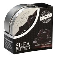 TOPVET Bambucké máslo (shea butter) s čokoládou 100ml