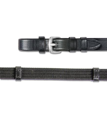 Plátěné otěžě X-Line černé