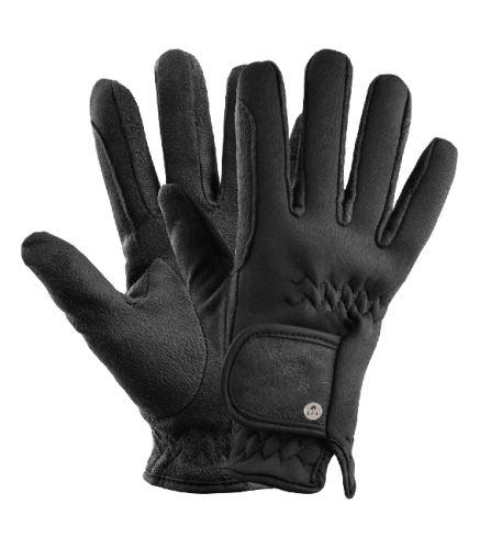 Jezdecké neoprenové rukavice černé