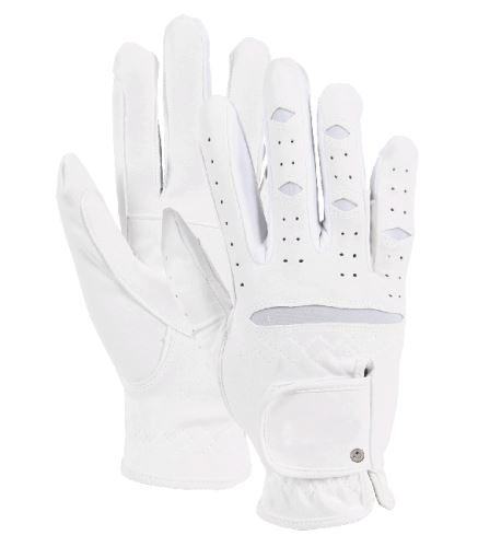 Jezdecké rukavice Vielseitige bílé