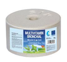 SIN Hellas Bronchial, minerální multivitaminový liz na uvolnění dýchacích cest s éterickými oleji z máty a eukalyptu, balení 3kg