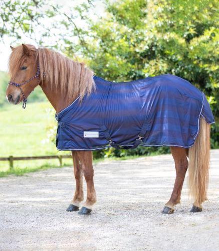 Síťová deka s křížovým zapínáním - i pro pony