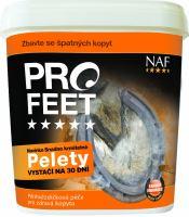 NAF Pro feet pellets pro zdravá kopyta s biotinem, kyblík 3kg