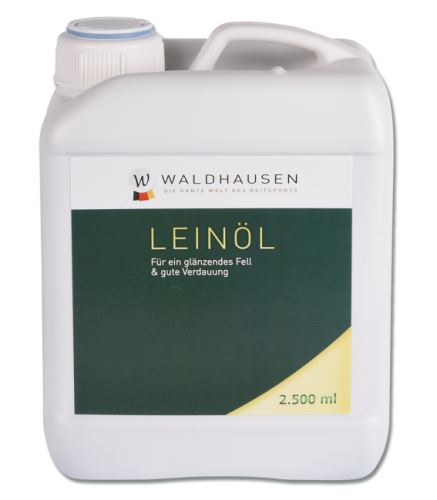 Lněný olej 2500ml - lisovaný za studena