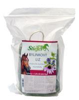 Stiefel Bylinkový liz, koňské lízátko s bylinkami na průdušky, balení 1 kg