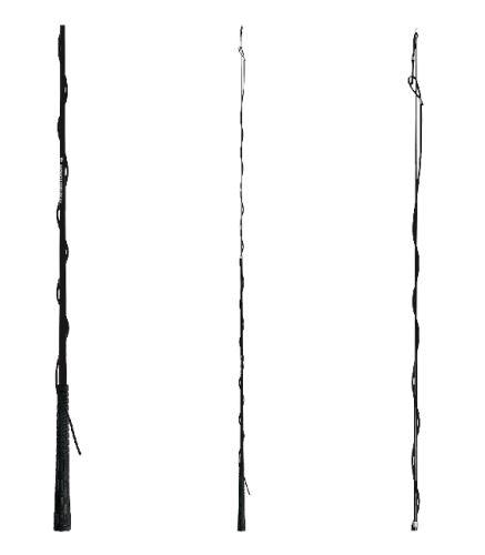 Lonžovací bič teleskopický - 300cm