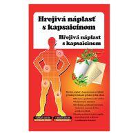 TOPVET Hřejivá náplast s kapsaicinem 12x18 cm