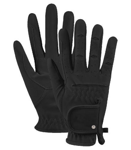 Jezdecké rukavice Vielseitige černé